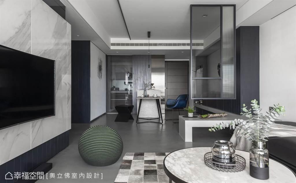▲每個人對家都有自己的期待與憧憬,透過平面設計圖將屋內所有的物件平面化,由上往下垂直投影於水平圖紙上,傳達風格理念,空間佈局,更是施工進度、完工驗收的重要依據。(圖片提供/奧立佛 x 竺居聯合設計)