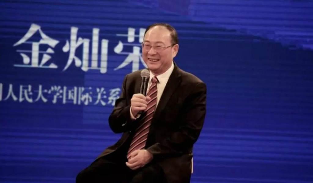 中國人民大學國際關係學院副院長金燦榮表示,以前美國人性格很可愛,現在內部矛盾多,性格變了,像進入更年期,動不動就對大陸發脾氣。(圖/環球網)