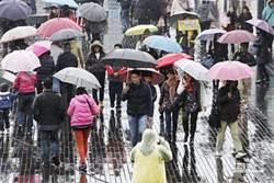 沙德爾外圍環流+東北風影響!基隆、新北大豪雨  台北、宜蘭豪、大雨特報