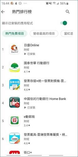 「日盛Online」APP下載量爆桌 android財經類下載排行居冠