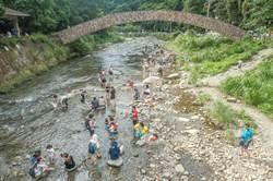 竹縣大坪溪排除停灌補償範圍 北埔峨眉農民氣炸