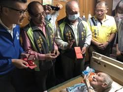 竹市總工會重陽敬老 感謝勞工人瑞過去的付出