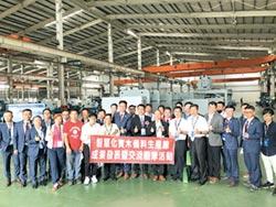 勝源發表智慧化實木備料生產線