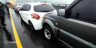 基隆台62事故6車追撞 無人受傷
