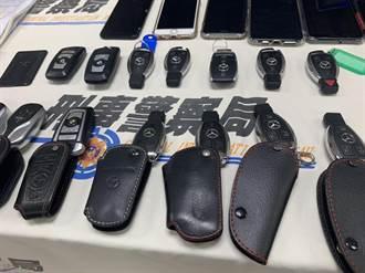 收購事故車再自撞或報竊 警逮22嫌詐領4000多萬保險金