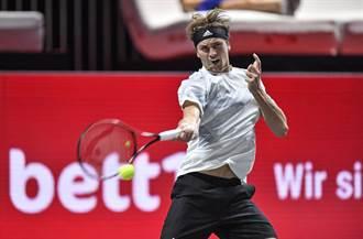 《時來運轉》運彩報報-茲維列夫連霸之路困難重重 科隆網球錦標賽