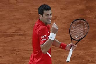 網球》沒保分壓力 喬柯維奇不打巴黎大師賽