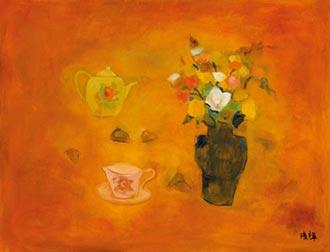 玫瑰的語言──讀畫家黃騰輝作品