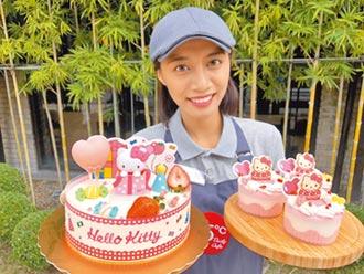 85°C蛋糕派對 Hello Kitty粉萌上市