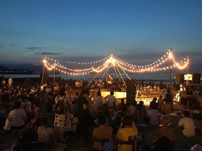 基隆市推出「海派浪漫 24小時Non-Stop不斷電玩基隆」,24日將在和平島公園-留夏沙灘舉辦電音派對。(基隆市政府提供/陳彩玲基隆傳真)