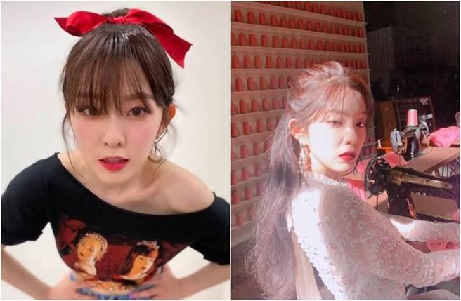 Irene是圈內高冷美女代表之一。(圖/翻攝自IG)