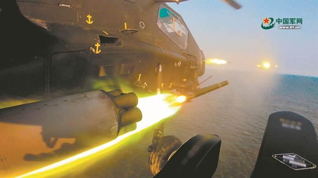 解放军3大海域同步实弹军演 对应美日印澳4国联合演习