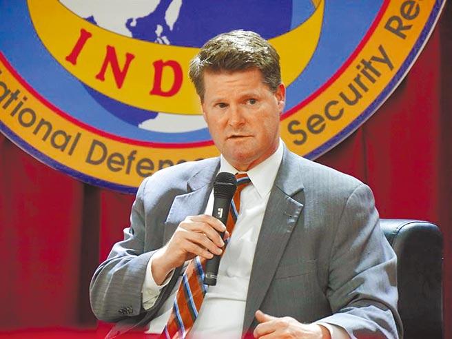 美前國防部助理部長薛瑞福將台灣稱為亞洲「富爾達缺口」。(本報資料照片)