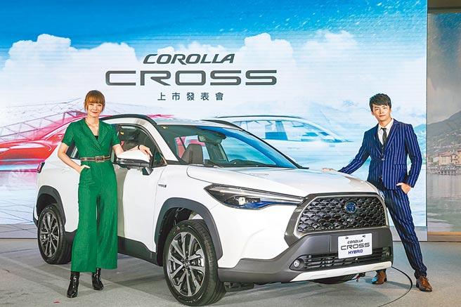 和泰車首款國產休旅車Toyota Corolla Cross接單爆量,本週末累積接單挑戰7000台,渴望成為Altis、RAV4之後的「新神車」。(本報資料照片)
