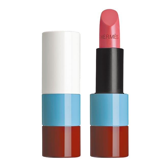 愛馬仕脣妝系列ROSE OMBRE緞光暗影玫瑰調,2450元。(愛馬仕提供)