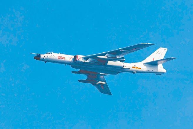 大陸轟-6N戰略轟炸機。(取自中國軍網)