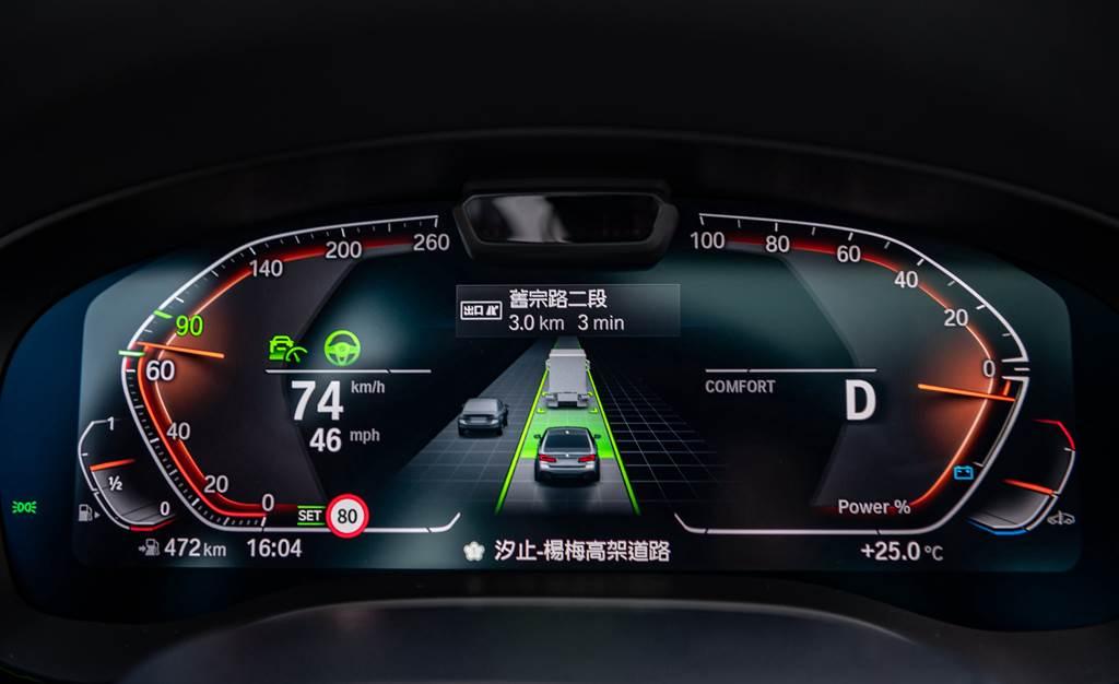 全車系標準配備BMW Personal CoPilot智慧駕駛輔助科技升級自動倒車輔助系統、道路虛擬實境顯示功能與速限輔助功能,給予車主最全面的輔助。
