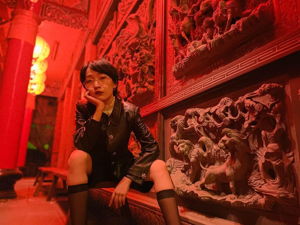 Paddy Chao藉由iPhone 12 Pro拍攝的夜拍人像作品 (1)。(Paddy Chao提供/黃慧雯台北傳真)