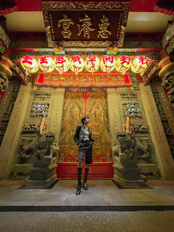 Paddy Chao藉由iPhone 12 Pro拍攝的夜間超廣角攝影作品(1) 。(Paddy Chao提供/黃慧雯台北傳真)