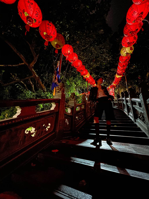 Paddy Chao藉由iPhone 12 Pro拍攝的夜間超廣角攝影作品(2) 。(Paddy Chao提供/黃慧雯台北傳真)