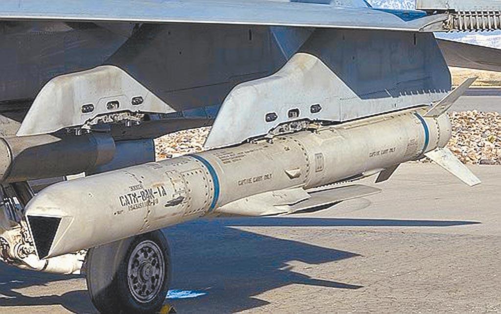 美智庫戰略與國際研究中心(CSIS)建議華府應提升與台關係。圖為美國售台的AGM-84H增程型距外陸攻飛彈(SLAM-ER)(摘自網路)