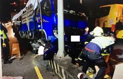 相隔不到5分鐘 花蓮新城鄉晚間連2起死亡車禍