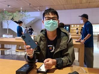 果粉連續3年搶Apple旗艦店頭香 實機顏色及手感比預期佳
