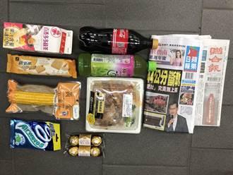 嫌犯超商內偷零食、飲料  遭逮自稱有強迫症