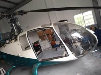 名间台商拥直升机 23日地检署现场查扣2架