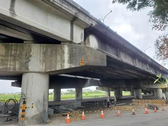 一把無名火燒出1600萬元橋梁損失 雲林縣府動用二備重建