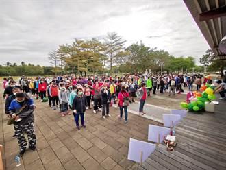 彰府天使盃350位「康復之友」 齊聚溪州公園「玩很大」