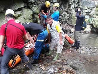 台東男子巡視水源失足 特搜隊出動空拍機、攀繩齊救援