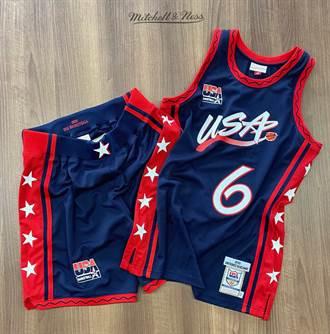 完整重現美國夢三隊球衣 M&N即將販售