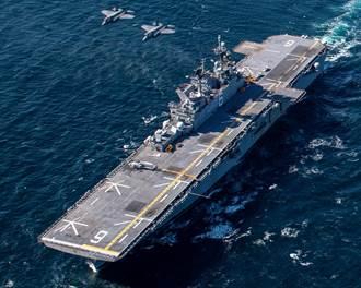 聯手抗陸 日F-35A首次與美海軍聯演