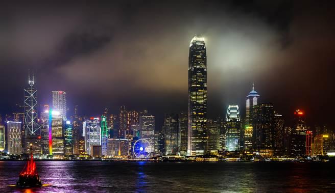香港上半年經濟成長衰退逾9%,過去百年來的繁華景象,正面臨空前挑戰。(示意圖/達志影像/shutterstock)
