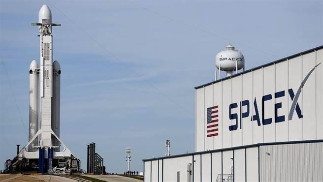 馬斯克所創辦的太空運輸公司SpaceX。(美聯社)