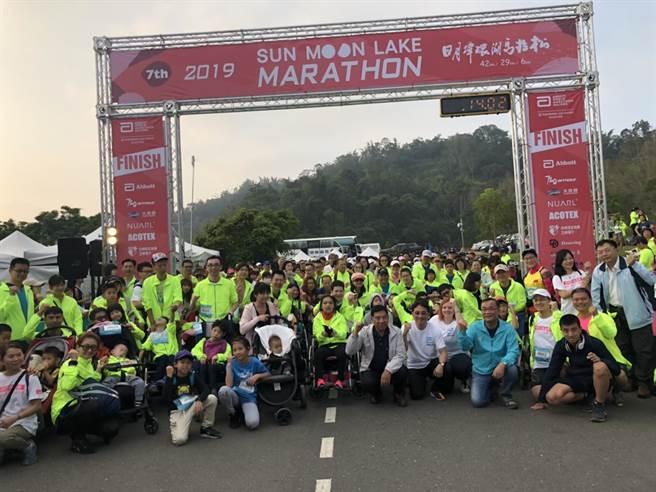 國際認證世界馬拉松分齡賽台灣站,10月25日將在日月潭花火節正式起跑。(資料照/中華運動生活協會提供)