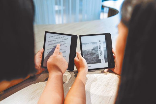 疫情影響,電子書市場樂見成長。(本報資料照片)