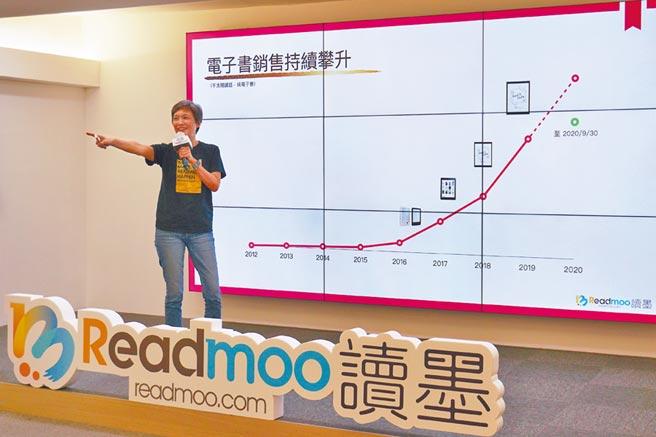 Readmoo電子書年營收破億。(本報資料照片)