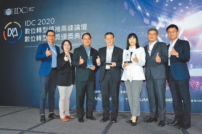國泰人壽推動數位轉型,在今年第四屆數位轉型大獎(DX Awards)一舉奪得3大獎,是最大贏家。(國泰提供)