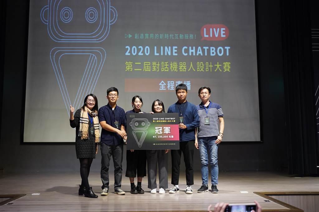 本屆賽事由台灣科技大學學生殺出重圍奪得冠軍。(黃婉婷攝)