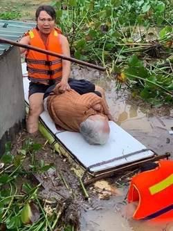 中越洪災百人傷亡  慈善團體急調物資投入救災