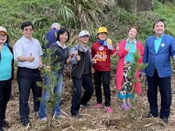 種下萬顆百合種子及樹苗 海科館打造基隆「潮境綠色廊道」