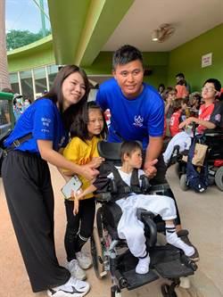 LLB挑戰者盃棒球賽 助身障兒走出戶外