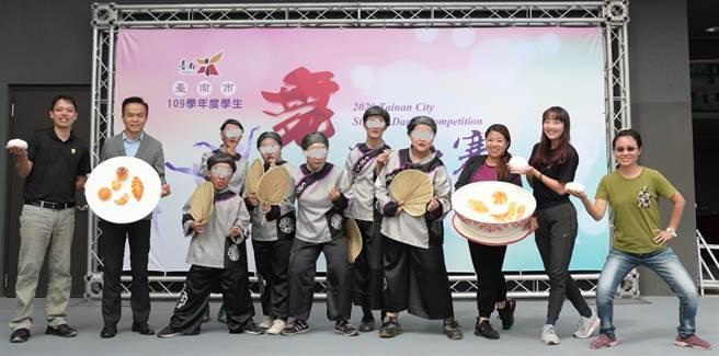 國立曾文農工民族舞團,團員都是特教班的孩子。(國立曾文農工提供/劉秀芬台南傳真)