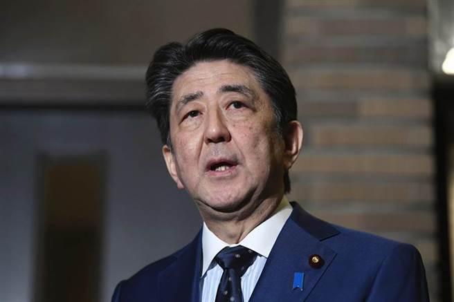 日本前首相安倍晉三。(本報資料照片)