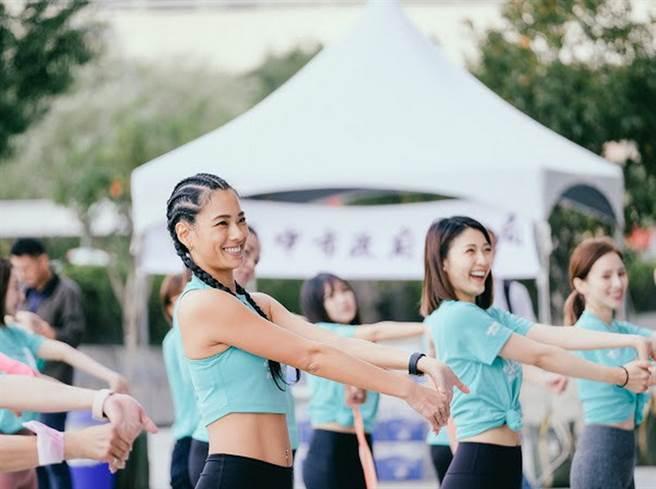 2020台中女力女麗Women's Day活動熱烈進行當中。(台中市體育局提供)