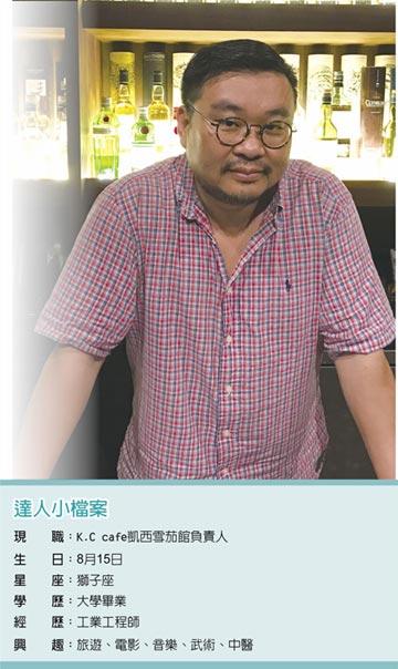 職場達人-K.C cafe凱西雪茄館負責人 黃凱傑邂逅雪茄 享受分享的快樂