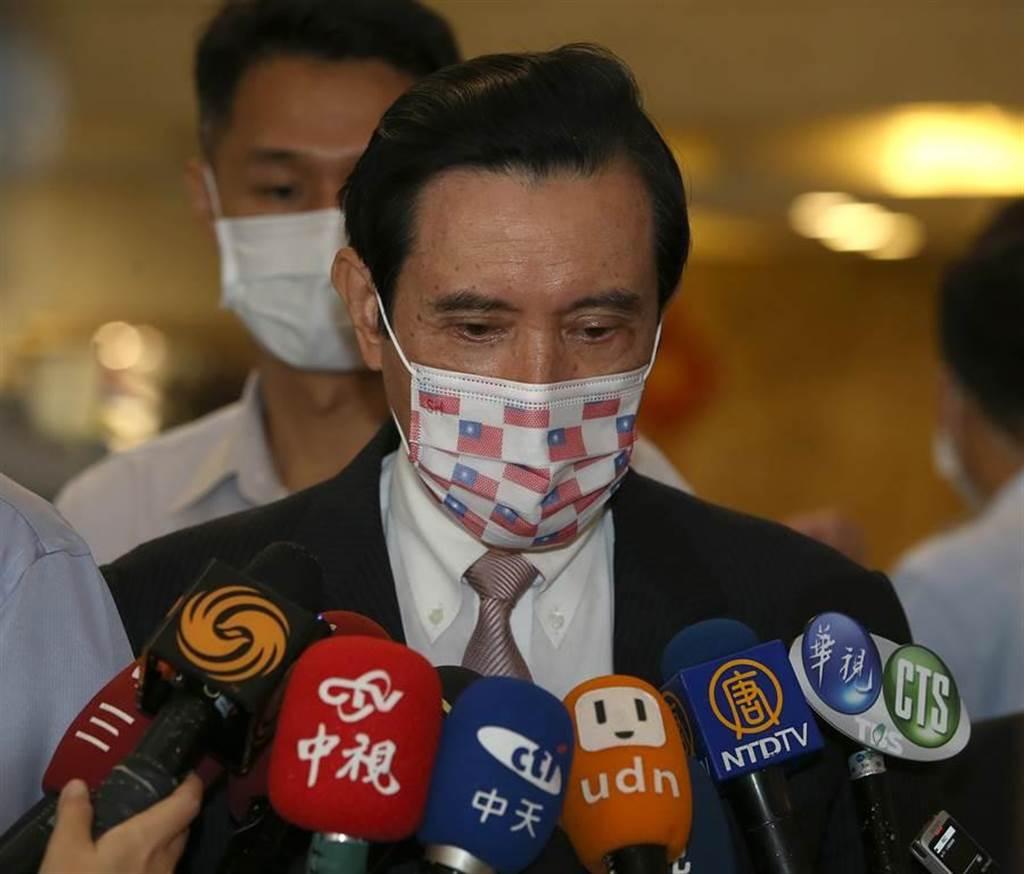 前總統馬英九。(本報資料照)