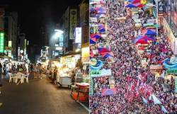 一張圖曝六合夜市變化!攤商曾不屑韓流 今卻是60年最慘